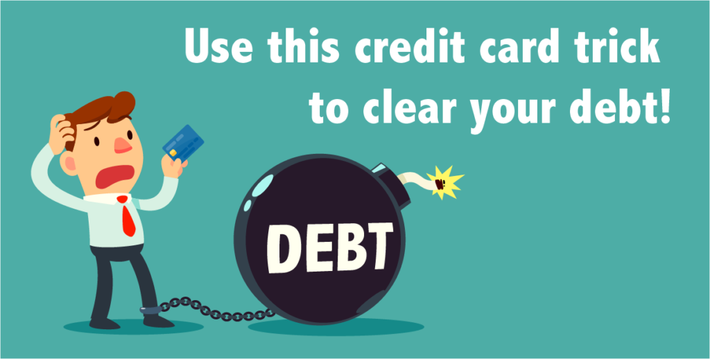 credit card debt trick