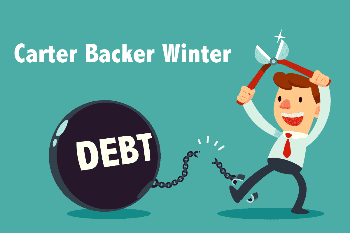 Carter Backer Winter IVA Debt