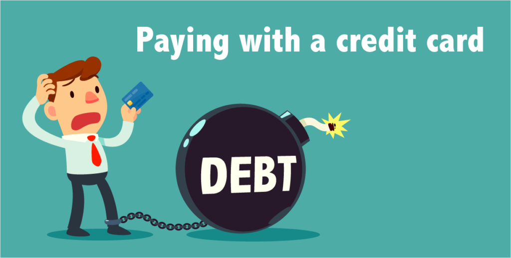 paying debt with a credit card