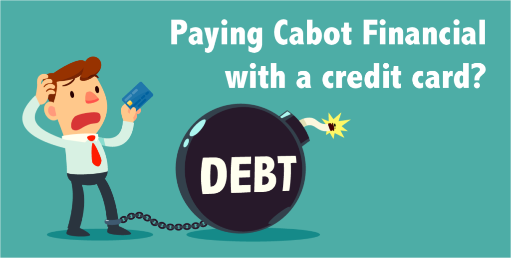 paying cabot with a credit card