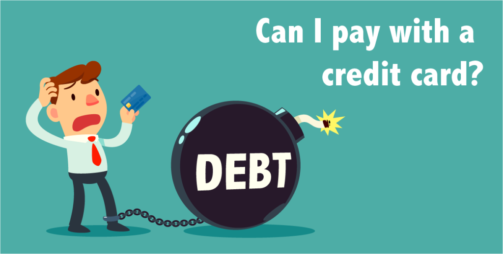 Can I pay with a credit card?