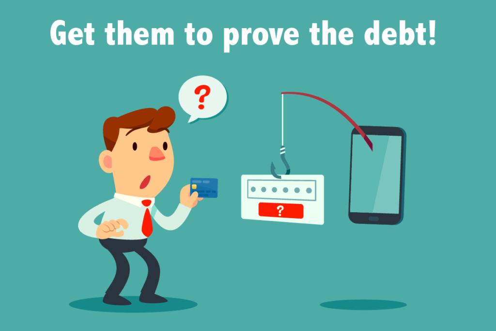 prove debt letter