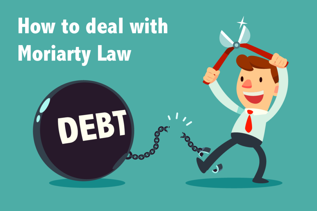 How to deal with Moriarty Law debt letter