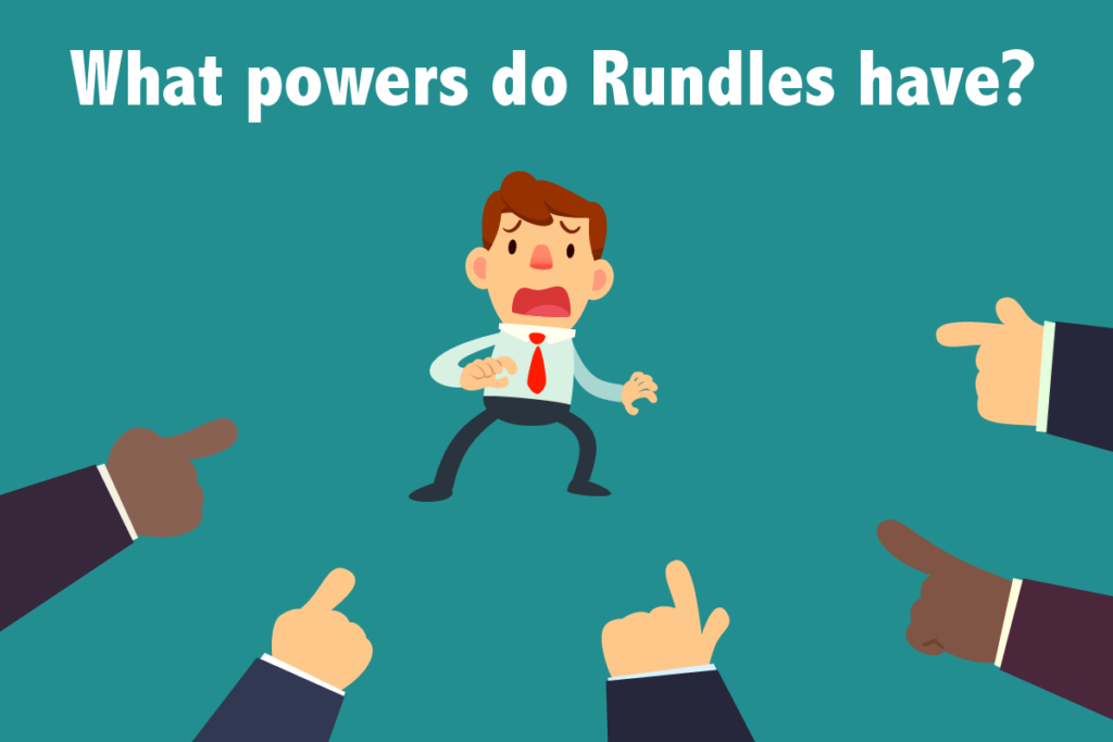 What powers do Rundles have?