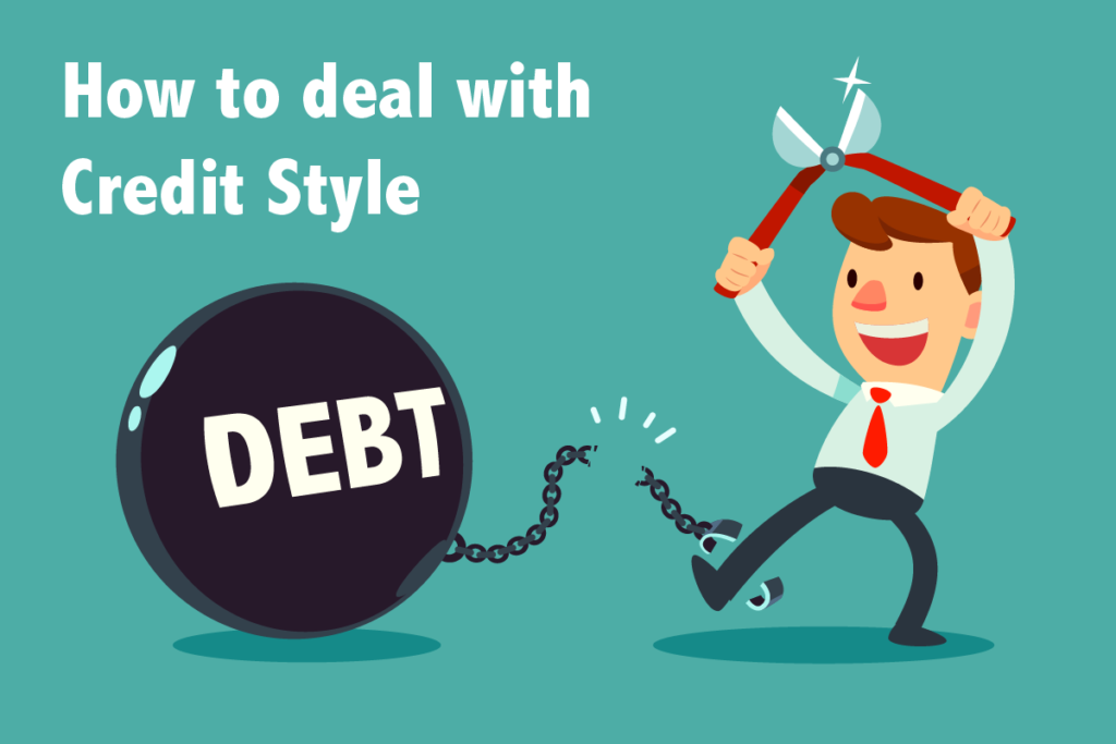how to deal with credit style debt letter