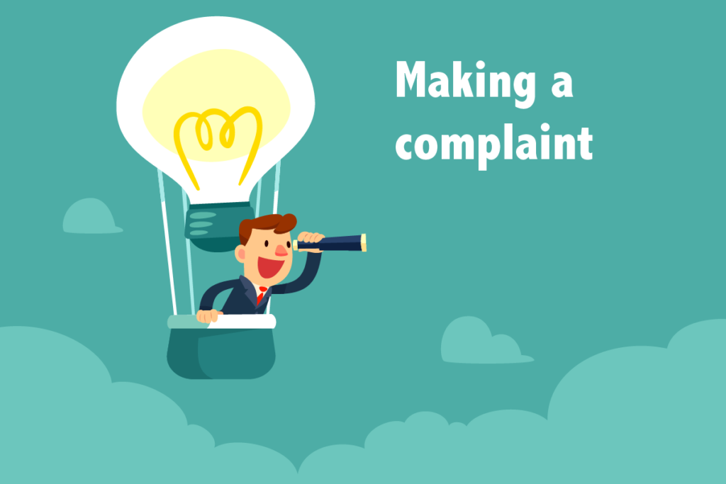 Making a complaint against debt collectors