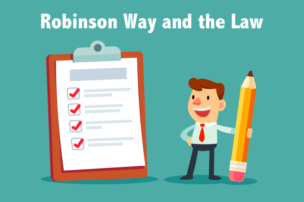 Robinson way and the Law