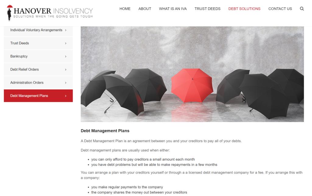 Hanover Insolvency DMP