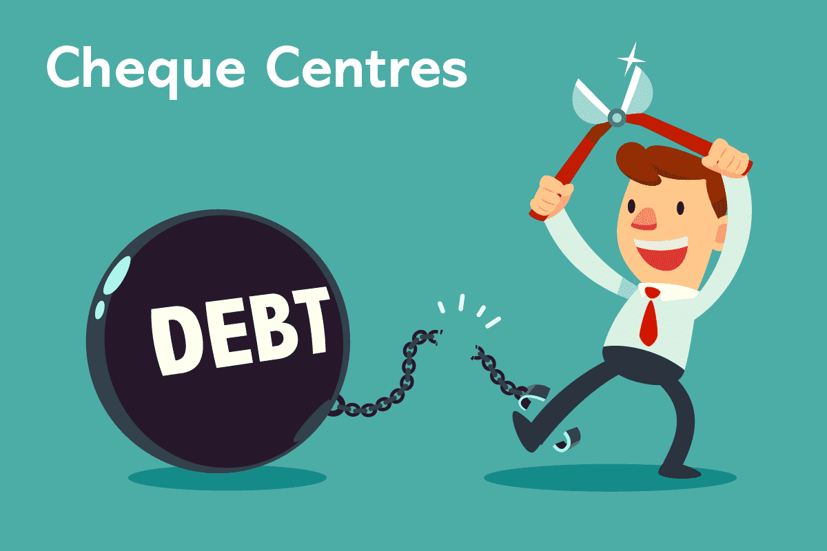 Cheque Centres debt