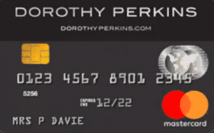 Dorothy Perkins Mastercard