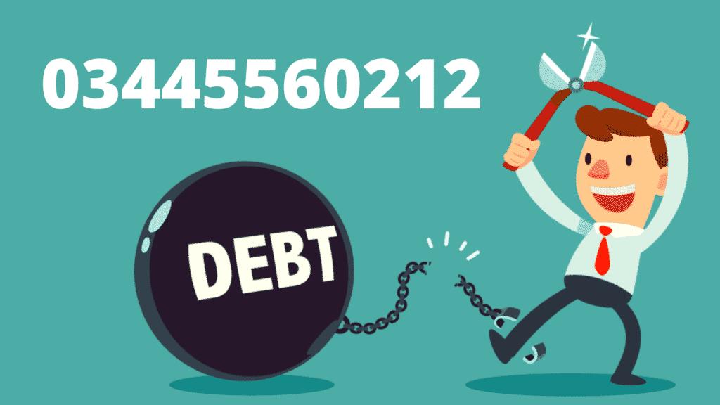 03445560212 Debt Free
